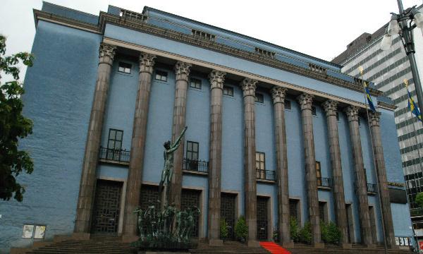 L'IMAGE DU JOUR: La Maison des concerts de Stockholm