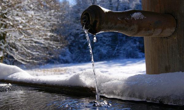 L'IMAGE DU JOUR: Fontaine d'eau de source