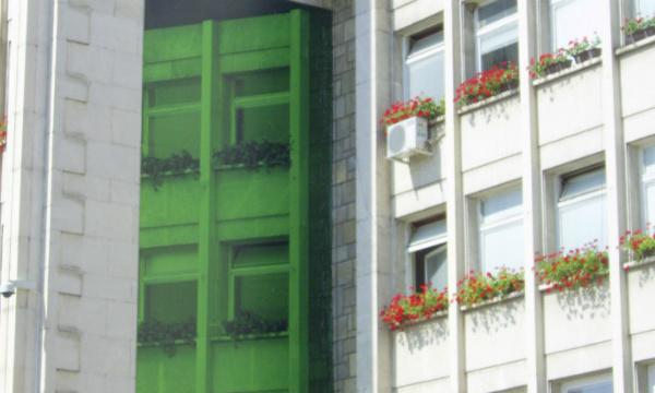 L'IMAGE DU JOUR: Trompe-l'œil à Gabrovo