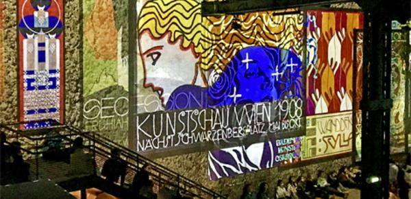 "Expo ""Klimt, Hundertwasser & Poetic-AI"""