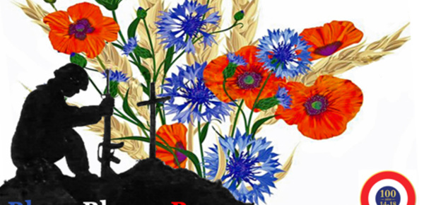 """Bleu-Blanc-Rouge"", par Robert W. Service"