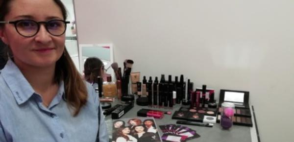 Une passionnée de maquillage