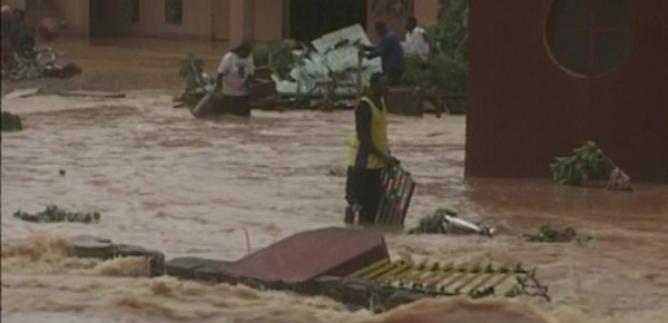 Inondations intempestives au Burkina Faso