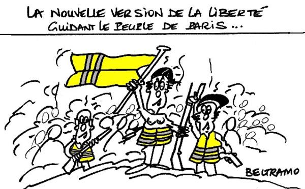 Gilets jaunes: marche sur l'Élysée?
