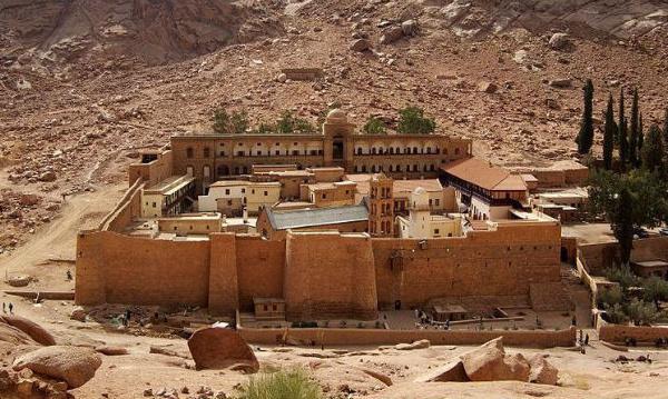IMAGE DU JOUR: Monastère en Egypte