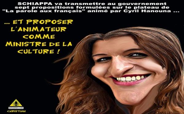 "Marlène Schiappa était chez Hanouna dans ""Balance ton post"""