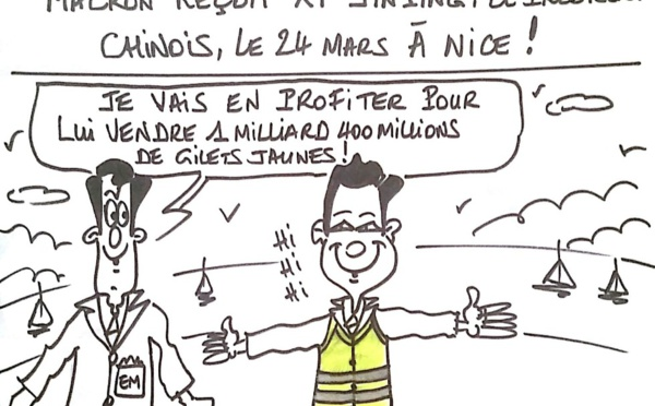 Xi Jinping à Monaco et à Nice!
