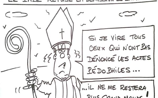 Le pape refuse la démission du cardinal Barbarin