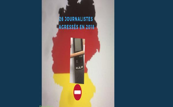 Le nombre d'agressions contre des journalistes en Allemagne augmente