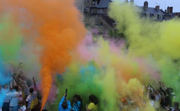 Alençon: du Col'Orne a jailli de nombreuses couleurs