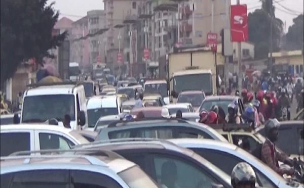 Conakry: embouteillages en plein ramadan