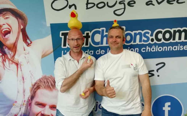 Châlons : la 3e Duck Race arrive