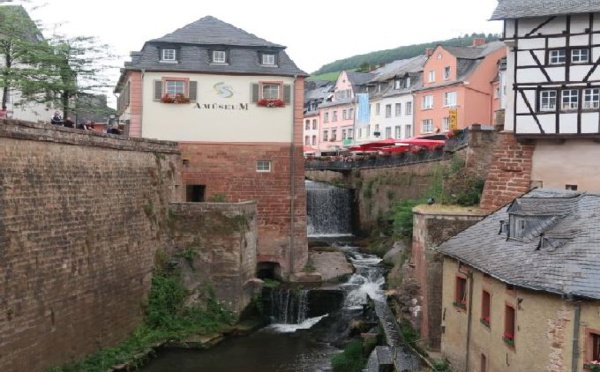 Escapade en Allemagne: Saarburg, la ville sur la cascade