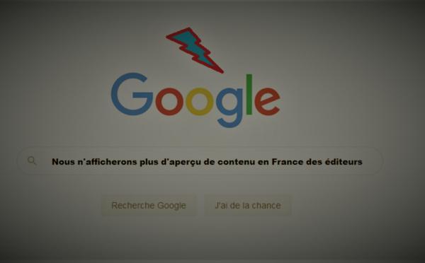 Front uni des éditeurs de presse contre Google