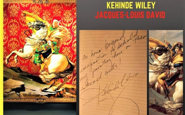 Quand Kehinde Wiley réinvente David