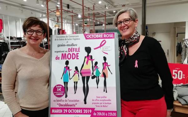 Marne : La boutique Grain de Malice sort le tapis rouge pour Octobre rose