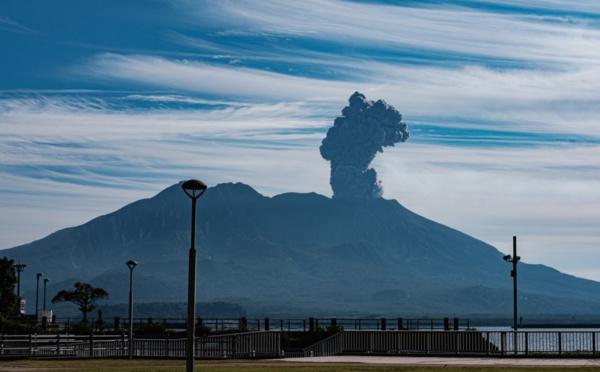 Sakurajima : des cendres pour s'élever