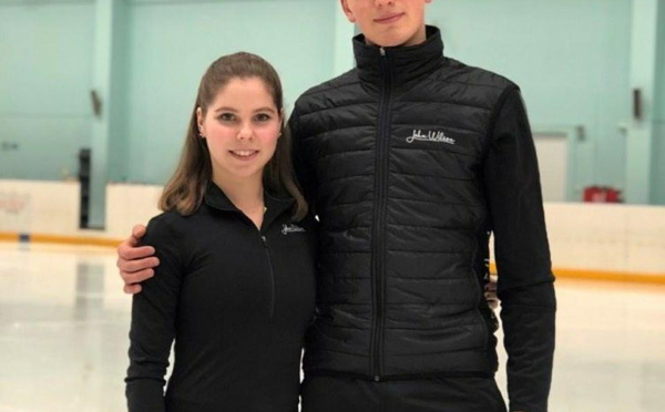Anastasia Mishina and Alexander Galliamov : The russian pair team that take the lead
