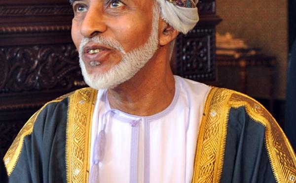 Décès du sultan d'Oman