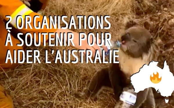 Deux organisations à soutenir pour aider l'Australie