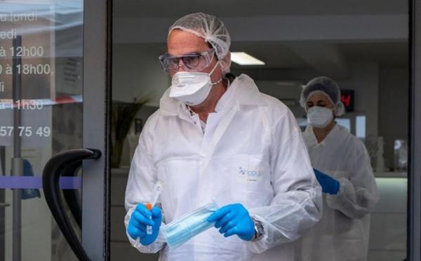 Coronavirus: un drive-test installé à Menton