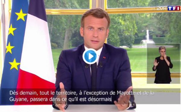 Retour sur l'allocution du dimanche 14 juin d'Emmanuel Macron et ses principales annonces