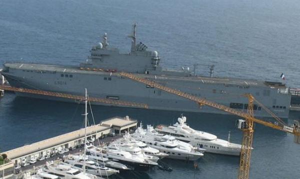 L'IMAGE DU JOUR - Bâtiment naval Tonnerre