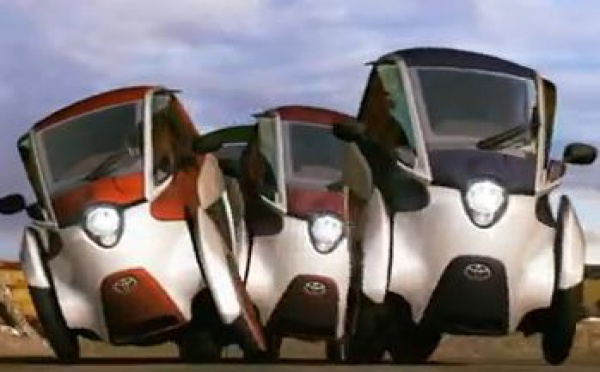 The TOYOTA i-ROAD