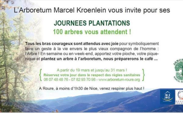 Tous à l'Arboretum de Roure!