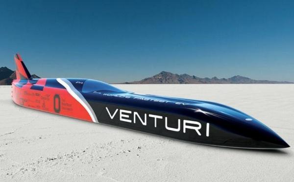 Venturi présente la voiture extrème la plus rapide du monde