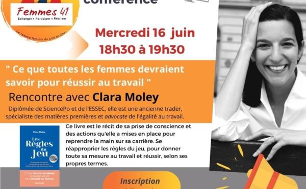 """Visio-conférence """"Femmes 41"""" :""""Ce que toutes les femmes devraient savoir pour réussir au travail""""."""