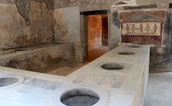 Restauration rapide à Pompéi