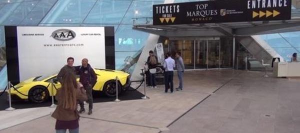 Top Marques Monaco 2014, visite en images