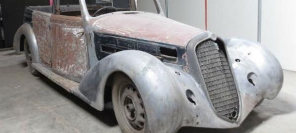 L'Alfa Romeo de Mussolini, une voiture exceptionnelle
