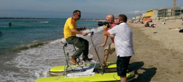 Traversée France-Corse à vélo, sur l'eau