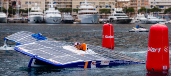 Solar1 Monte-Carlo Cup: Première course de bateaux solaires