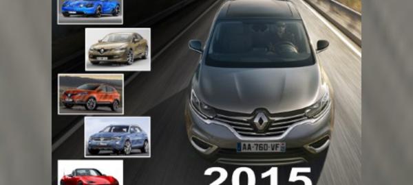 Les cinq tendances du marché automobile 2015