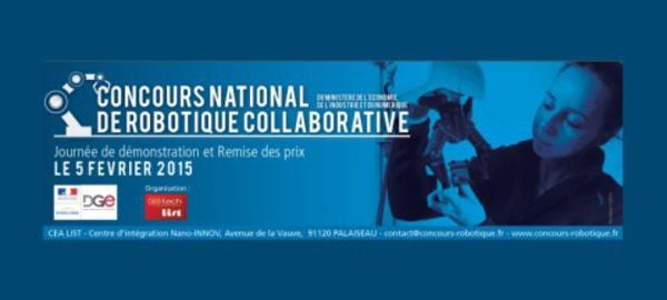 Lancement du 1er Concours national de robotique collaborative