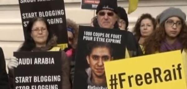 Les conséquences des flagellations infligées à un blogueur saoudien