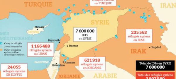 4 ans du conflit syrien: une génération mutilée