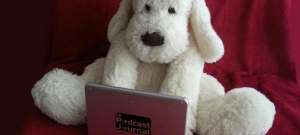 La mascotte du Podcast Journal, Patapouf, présente les éphémérides du 8 avril
