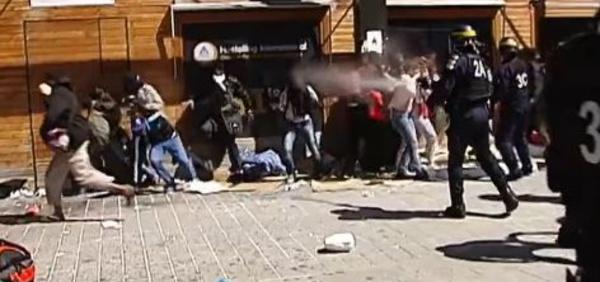 France: craintes autour du sort des migrants expulsés de force