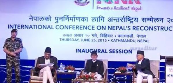 Népal: Les efforts de reconstruction