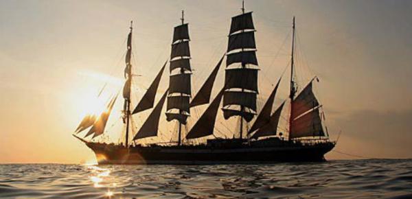 Le Sedov, le plus grand voilier en service au monde