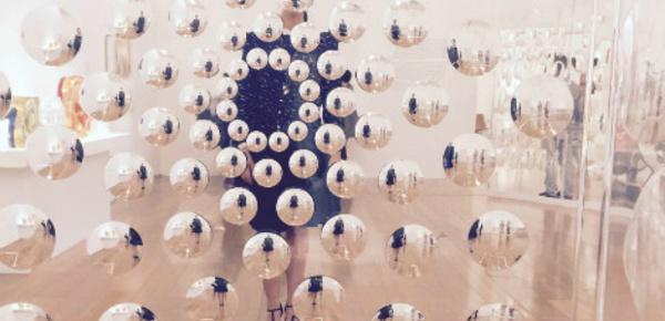 Interaction et jeux d'optique au musée MALBA de Buenos Aires