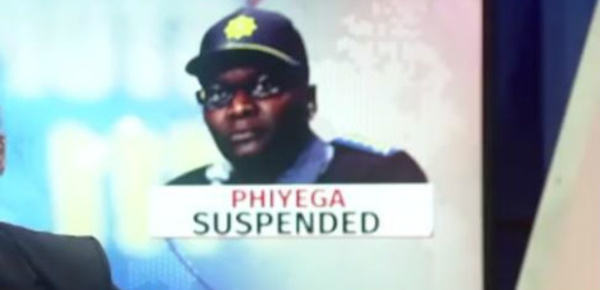 Afrique du Sud: suspension de la chef de la police