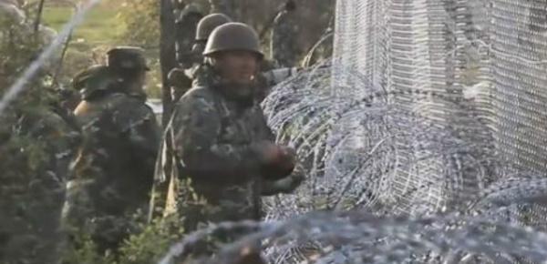 Macédoine: gaz lacrymogène et balles en caoutchouc à la frontière