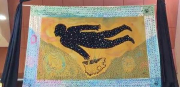 Afrique du Sud: une tapisserie monumentale en mémoire de Mandela