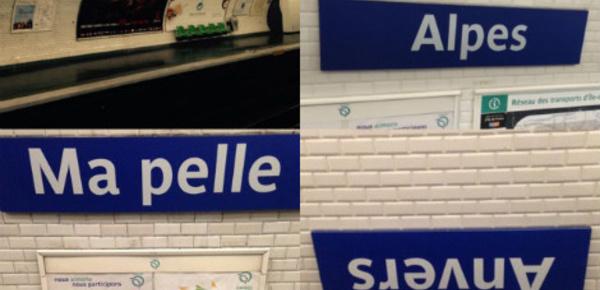 Au 1er avril, la RATP ne manque pas d'humour