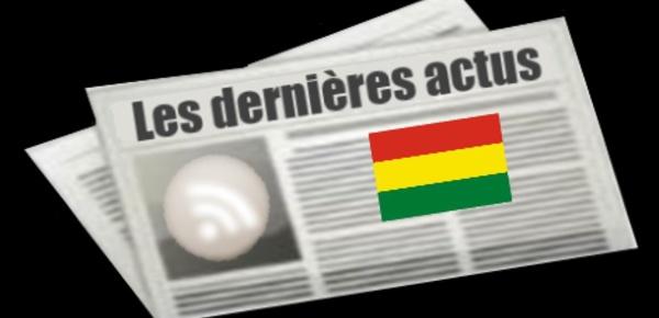 Les dernières actus de Bolivie
